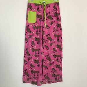 Lazy One Don't Moose With Me  Yoga Lounge PJ Pant